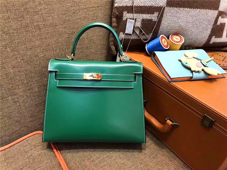 HERMÈS Kelly 28 翡翠绿